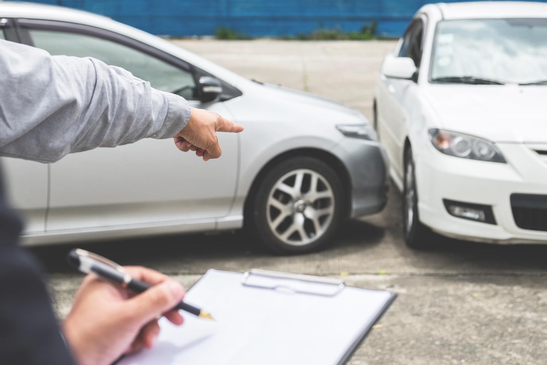 évaluation véhicules endommagés